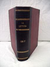 La Lettura Rivista Mensile 1917 Annata Completa Corriere della Sera Collezione