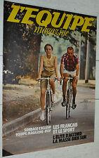 EQUIPE MAGAZINE N°77 1981 FRANCAIS ET LE SPORT FOOTBALL BELGIQUE MARSEILLE OM