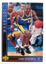 CARTE  NBA BASKET BALL 1994  PLAYER CARDS LATRELL SPREWELL (54)