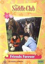 The Saddle Club - FRIENDS FOREVER (DVD) Region 4 - Kids G Rated - RARE ORIGINAL