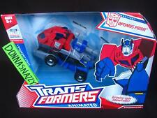 TRANSFORMERS ANIMATED TFA VOYAGER CLASS OPTIMUS PRIME AUTOBOTS INSIGNIA BUMBLEBE