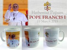 More details for pope francis i mug (2) - commemorative papal catholic souvenir