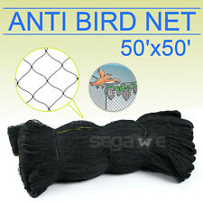 50' X 50' Bird Netting Chicken Protective Net Screen Poultry Garden Aviary Game
