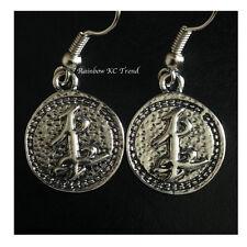 The Mortal Instruments City Of Bones Parabatai Friendship Earrings Silver