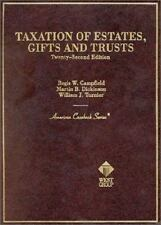 Taxation of Estates, Gifts and Trusts (American Casebook Series and Other Course