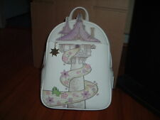 LOUNGEFLY DISNEY TANGLED TOWER MINI BACKPACK~ WITH TAGS~BRAND NEW~ PASCAL~
