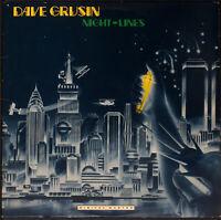 Dave Grusin - Night-Lines (EX/VG) [05-20xx] VINYL LP