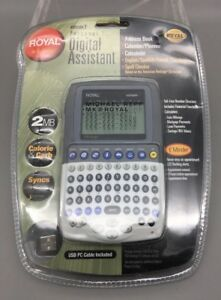 Royal Info To Go Extreme 7 Personal Digital AssistTranslator Book 2MB Syncs E20