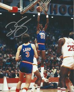 University of Virginia  Ralph Sampson autographed 8x10 jump shot photo