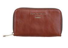 286f682e75 Nannini Portafoglio Icon classic in pelle con zip di colore marrone