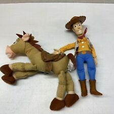 "Toy Story Woody And Bullseye Plush 10"" Stuffed Toys"