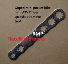Goped mini pocket bike scooter drive sprocket remove tool 6Tooth 7tooth 8tooth