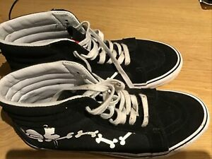 Men's Vans High Tops Limited Edition Peanuts Size 8