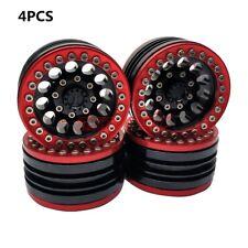 """4PCS ALUMINUM 1.9"""" Beadlock Wheels RIMS For RC D90 SCX10 TRX-4 90046 90047 JEEP"""