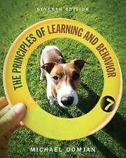 The Principles of Learning and Behavior by Michael Domjan (Hardback, 2013)