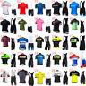 New Men summer cycling Jersey set MTB bike shirt bib shorts suit bicycle Outfits