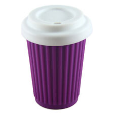 Onya Reusable Regular BYO Coffee Cup Eco Friendly 355ml Silicone Purple