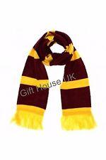 Harry Potter weich winter warm Wickeltuch Gryffindor gelb lila Wollschal