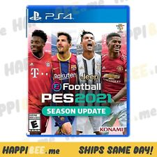 Efootball Pro Evo Soccer 2021 (PS4 / PlayStation 4)🍯Sony (Sports - Video Game)