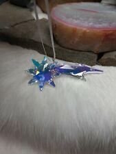 Rare! Color Opalescent Shooting Star Swarovski Crystal Figurines Spring Ornament