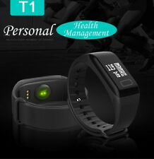 Orologio fitness smart watch  frequenza cardiaca pressione sanguigna colore NERO