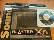Creative Sound Blaster X-Fi PCI Express x1 (70SB127000002) Sound Card