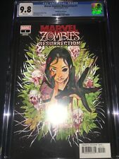 Marvel Zombies Resurrection #1 CGC 9.8 - Peach Momoko Variant - 2020
