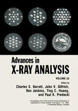 Advances in X-Ray Analysis Vol. 32 by J. W., Jr. Richardson (1989, Hardcover)