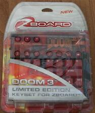SteelSeries Doom 3, Limited Ed Gaming Keyset for Zboard - NEW IN PACKAGE