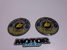 Bultaco original anagram plastic logo gray