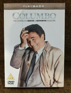 Columbo - The Complete 6 & 7 Seasons DVD Box Set - Excellent Condition