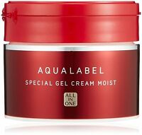 Shiseido Aqualabel Special Gel Cream Moist Moisturizing 90g All-in-One Japan