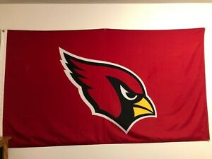 3x5 outdoor Flag - NFL Football - Arizona Cardinals Used