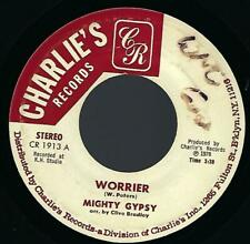 Mighty Gypsy Warrior (Worrier) 45 1978 Reggae Charlie's Records vg+