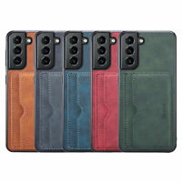 Shockproof Leather Credit Card Slot Stand Case Cover For Samsung Galaxy Phone