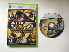 Super Street Fighter IV 4 - Case and Disc - Xbox 360
