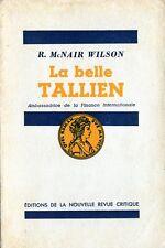 C1 NAPOLEON REVOLUTION McNair Wilson LA BELLE TALLIEN Ambassadrice Finance