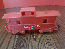 "Vintage MARX A.T.&S.F. 1977 Caboose Red ""O Scale"" ~FAST S/H~"