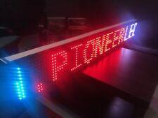 Signo de desplazamiento de LED 130 cm de largo Wifi Panel Pantalla de mensajes programable en movimiento