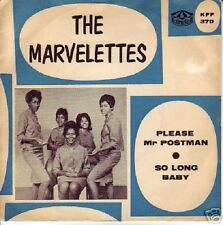 "MARVELETTES~ ""PLEASE MR.POSTMAN""~ CUSTOM-MADE SLEEVE ""VG/VG""~45!!!"