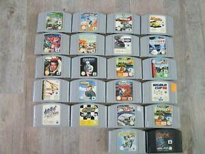 Lot de 22 jeux pour Console Nintendo N64 - Banjo & Kazooie - 007 - Star wars