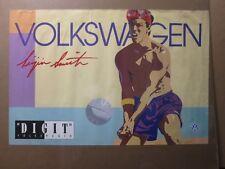 "Volkswagen Lucien Smith ""DIGIT"" advertisement 1982 poster car Volleyball 12673"
