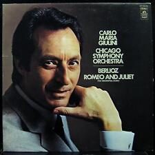 Giulini - Berlioz: Romeo & Juliet LP VG+ SFO-36038 Vinyl Record