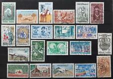 TUNISIA -  1959 - Living in Tunisia - Lot of 21 mint & used stamps