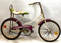 Iverson Banana Seat Bicycle Barn Find Vintage Antique Project Bike