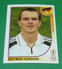 N°322 HAMANN ALLEMAGNE PANINI FOOTBALL JAPAN KOREA 2002 COUPE MONDE FIFA