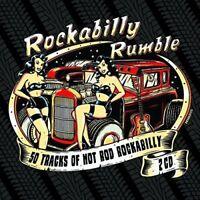 ROCKABILLY RUMBLE 2 CD NEU HAL WILLIS/CHUCK ALAIMO/SLICK SLAVIN/+