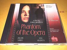 DARIO ARGENTO soundtrack PHANTOM OF THE OPERA cd ENNIO MORRICONE score