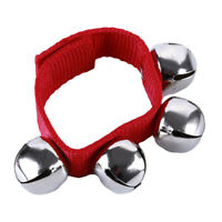 Hand Band Wrist Bell MultiColor Jingle Bells Musical Rhythm Toys Foot S