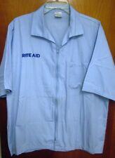 RITE AID lrg work outfit Drug Store uniform Halloween pharmacy Pennsylvania sewn